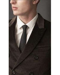 Burberry - Brown Modern Fit -Velvet Jacket for Men - Lyst