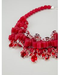 EK Thongprasert - Red Crystal Drop Necklace - Lyst