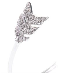 Jade Jagger - Metallic Diamond Silver Arrow Bracelet - Lyst