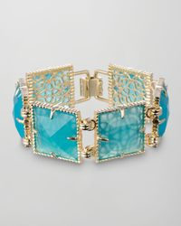 Kendra Scott | Green Electra Faceted Bracelet Turquoise | Lyst