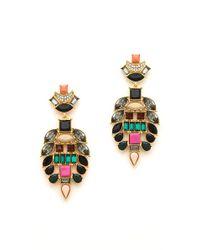 Lizzie Fortunato - Metallic The Majestic Ii Earrings - Lyst