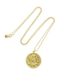 Jennifer Meyer | Metallic Good Luck 18-Karat Gold Diamond Necklace | Lyst
