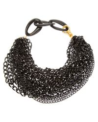 Katerina Psoma | Black Katerina Psoma Multi Chain Necklace | Lyst