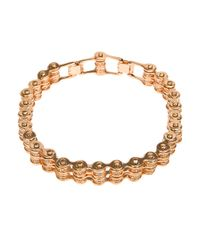 Mawi | Metallic Mawi Double Link Bike Chain Choker | Lyst
