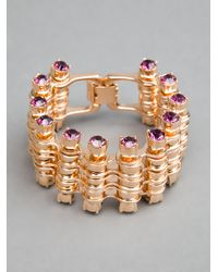 Mawi - Metallic Mawi Triple Link Bike Chain Bracelet - Lyst