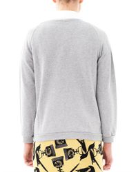Mother Of Pearl - Gray Lucas Pig On A Balloon Sweatshirt - Lyst