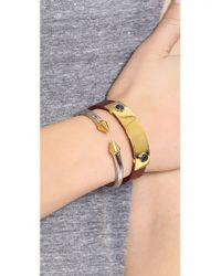 Vita Fede - Metallic Mini Titan Two Tone Bracelet - Lyst