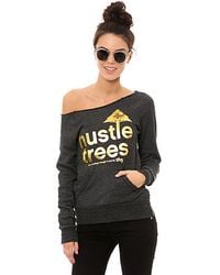LRG | Gray The Hustle Trees Crewneck | Lyst