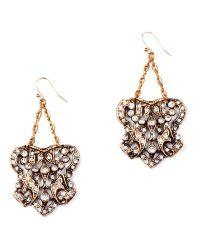 Lulu Frost - Metallic Crest Earrings - Lyst