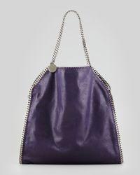Stella McCartney - Purple Falabella Big Tote Bag Berry - Lyst