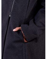 Brunello Cucinelli - Gray Brunello Cucinelli Asymmetrical Zip Sweater - Lyst