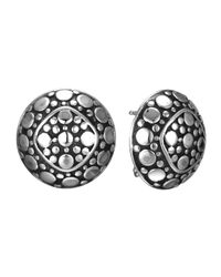 John Hardy | Metallic Dot Round Stud Earrings | Lyst