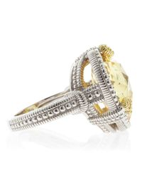 Judith Ripka | Yellow Canary Heart Ambrosia Ring | Lyst