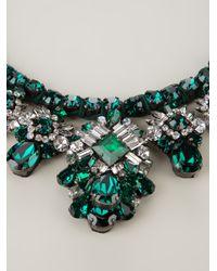 Shourouk - Green Shourouk Holy Necklace - Lyst
