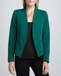 Theory - Green Lanai Basis Open Blazer Emerald - Lyst