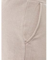 American Vintage   Gray Cuffed Jersey Sweatpants   Lyst