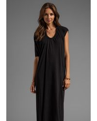 Complexgeometries | Square Hood Gown in Black | Lyst