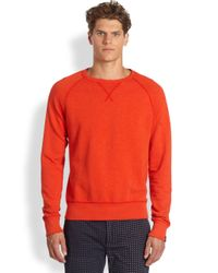 Jack Spade - Red Price Crewneck Sweatshirt for Men - Lyst