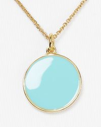 Kate Spade | Something Blue Charm Pendant Necklace 18 | Lyst
