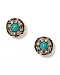 BaubleBar - Green Hunter Cabo Pop Studs Ships By 923 - Lyst