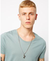 Dolce & Gabbana | Metallic Afends Claw Necklace for Men | Lyst