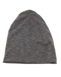 a6b6863f86c Antonio Barragan Slate Floppy Beanie in Gray for Men - Lyst