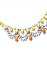 Tom Binns - Multicolor Scallop Necklace - Lyst