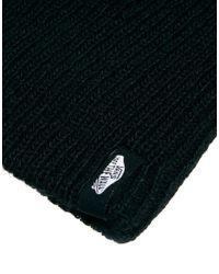 Vans - Black Mismoedig Beanie Hat for Men - Lyst