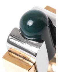Balenciaga | Metallic Round Slice Ring | Lyst