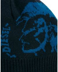 Huf - Blue Diesel Kgrafi Beanie Hat for Men - Lyst