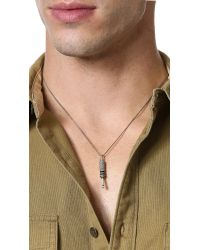 Eddie Borgo | Metallic Jack Pendant Necklace for Men | Lyst
