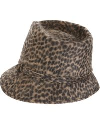 Jennifer Ouellette - Black Boyfriend Hat - Lyst