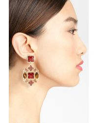 Kendra Scott | Red Apollo Earrings | Lyst
