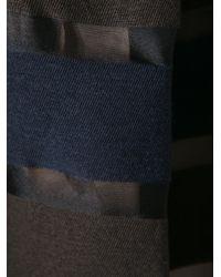 Mantu - Blue Striped Skirt - Lyst