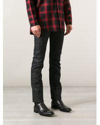 Saint Laurent - Blue Slim Fit Jeans for Men - Lyst