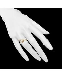 Bernard Delettrez | Metallic Lock and Key Ring in Gold | Lyst