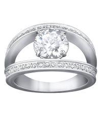 Swarovski - Metallic Vitality Ring - Lyst