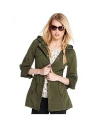 Maison Jules - Green Hooded Utility Pocket - Lyst