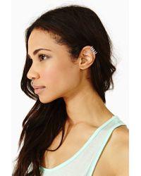 Nasty Gal - Metallic Turquoise Ear Cuff - Lyst