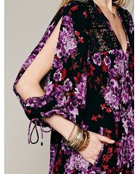 Free People - Red Spring It On Slip - Lyst