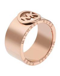 Michael Kors | Pink Fulton Ring Rose Golden | Lyst