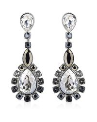 Swarovski | Metallic Valeska Drop Earrings | Lyst