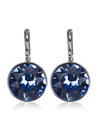 Swarovski | Blue Bella Mini Light Earrings | Lyst