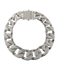AllSaints   Metallic Valtari Necklace   Lyst