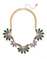 BaubleBar | Green Emerald Wisteria Collar | Lyst