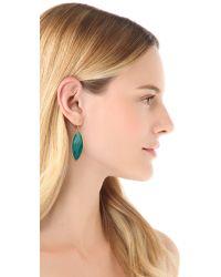 Chan Luu - Green Drop Earrings - Lyst