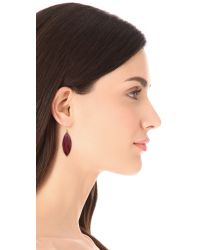 Chan Luu - Purple Drop Earrings - Lyst