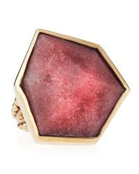 Stephen Dweck | Purple Freeform Rhodonite Ring Size 7 | Lyst