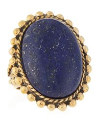 Stephen Dweck | Blue Lapis Oval Ring | Lyst