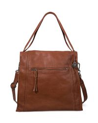 The Sak | Brown Miranda Leather Tote Bag | Lyst